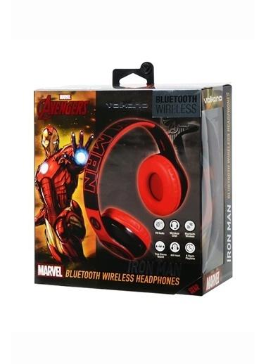 Volkano Marvel Avengers Iron Man Demir Adam Bluetooth Kulaklık Kablosuz Radyolu Lisanslı MV-1007-IM Renkli